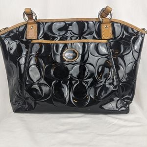Coach Peyton Embossed Satchel